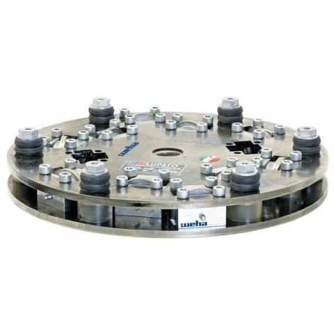 Lupato Granit-Master talerz groszkujący 450mm/10 rolek