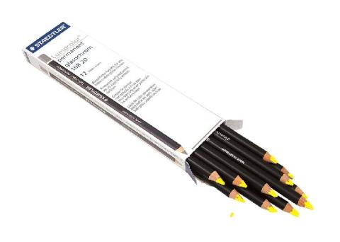 Ołówek Glasochrom żółty