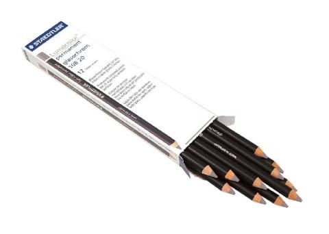 Ołówek Glasochrom biały
