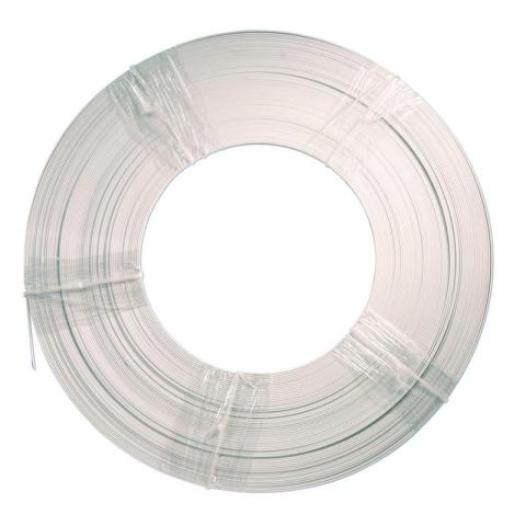 Listwa wzmacniająca GFK 10x3mm # 100m biała