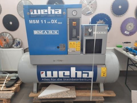Kompresor MSM 11,0 (Śrubowy) 11,0 KW  (UŻYWANY)
