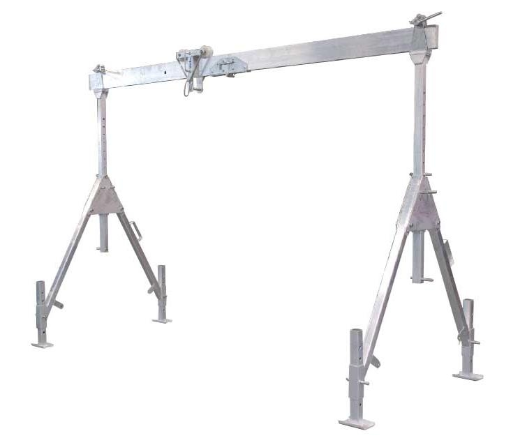 Suwnica aluminiowa - Pico 500kg