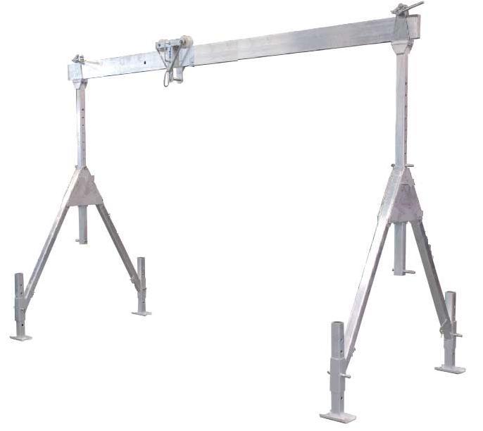 Suwnica aluminiowa  ALU-UNI 1000 kg