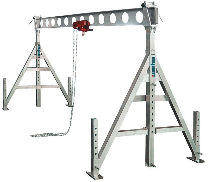 Suwnica aluminiowa 5m - 1000 kg
