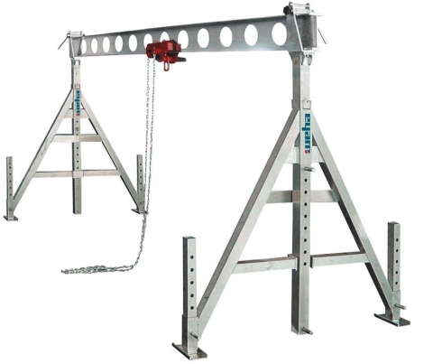 Konstrukcja ALU 5m - 1000 kg