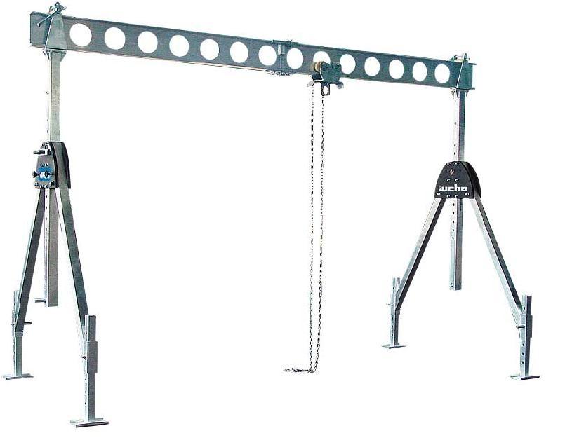 Suwnica aluminiowa ALU-Split 1000 kg