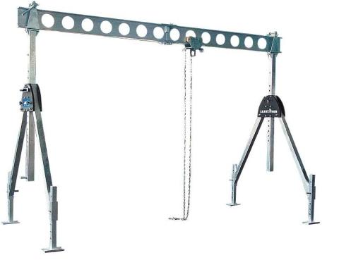 Konstrukcja ALU - Split 1000 kg