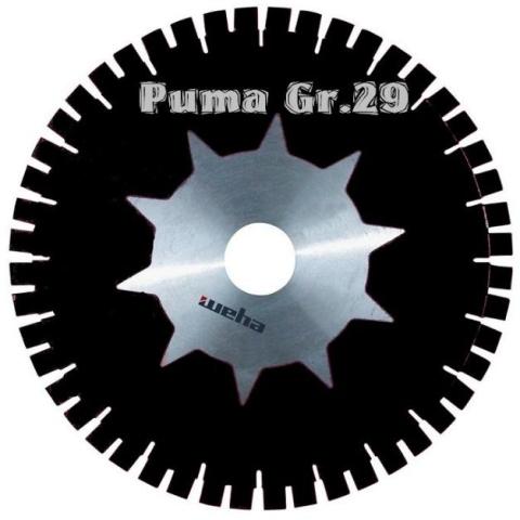 Dia-Tarcza 400/60 SW Puma SDW Gr