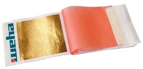 Listki złota 23 3/4 karata - transfer