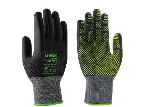 Rękawice Uvex C300 Dry roz.10