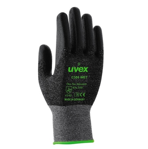Rękawice Uvex C300 Wet roz.8