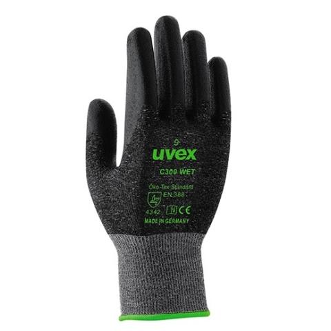 Rękawice Uvex C300 Wet roz.9