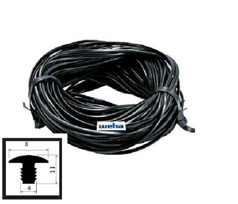 Profil p/poślizgowy gumowy czarny