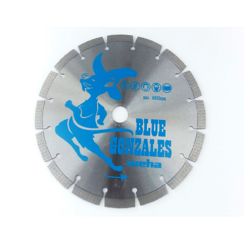 Dia-Tarcza 230/22,2 Blue Gonzales Gr