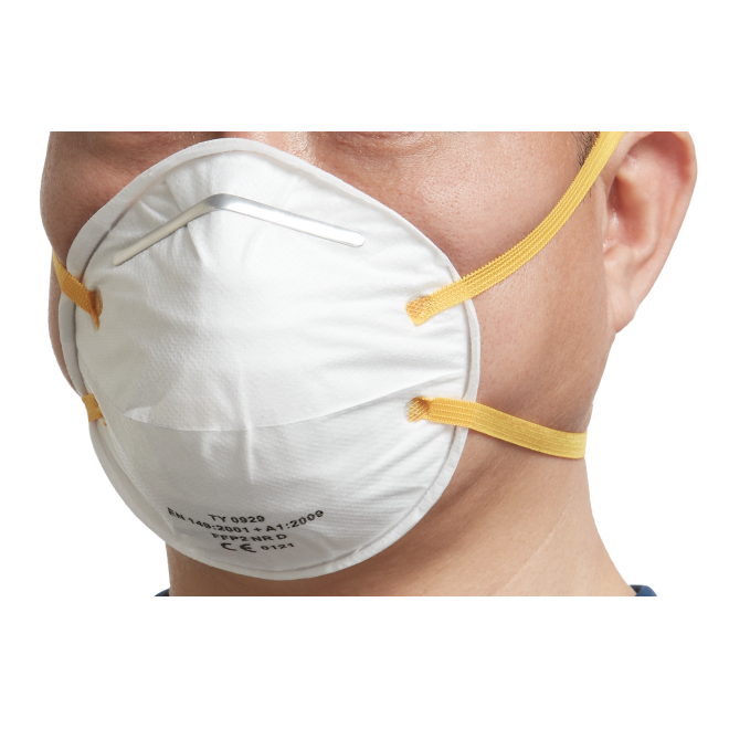 Ochrona przeciwpyłowa FFP2